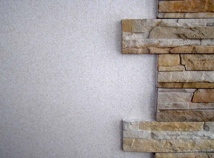 Декоративная мозаичная штукатурка как материал для отделки п.